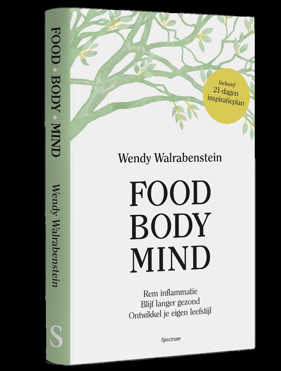 Boek Food Body Mind WendyWalrabenstein