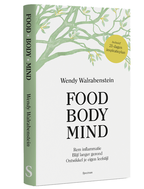 Boek Food Body Mind WendyWalrabenstein